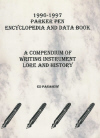 1996-1997 Parker Pen Encyclopedia And Data Book