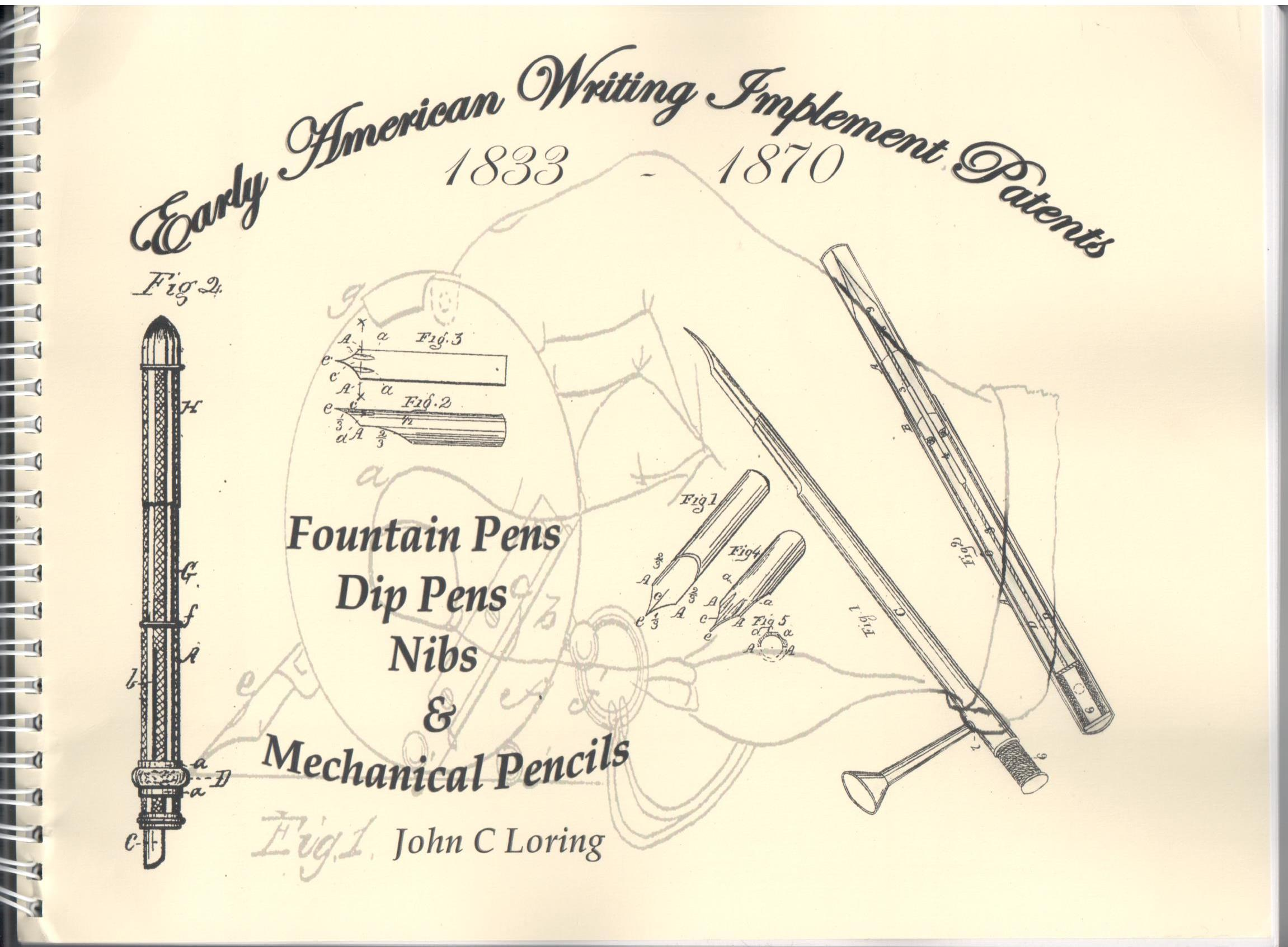 Early American Writing Implement Patents
