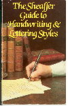The Sheaffer Guide to Hanwriting & Lettering Style