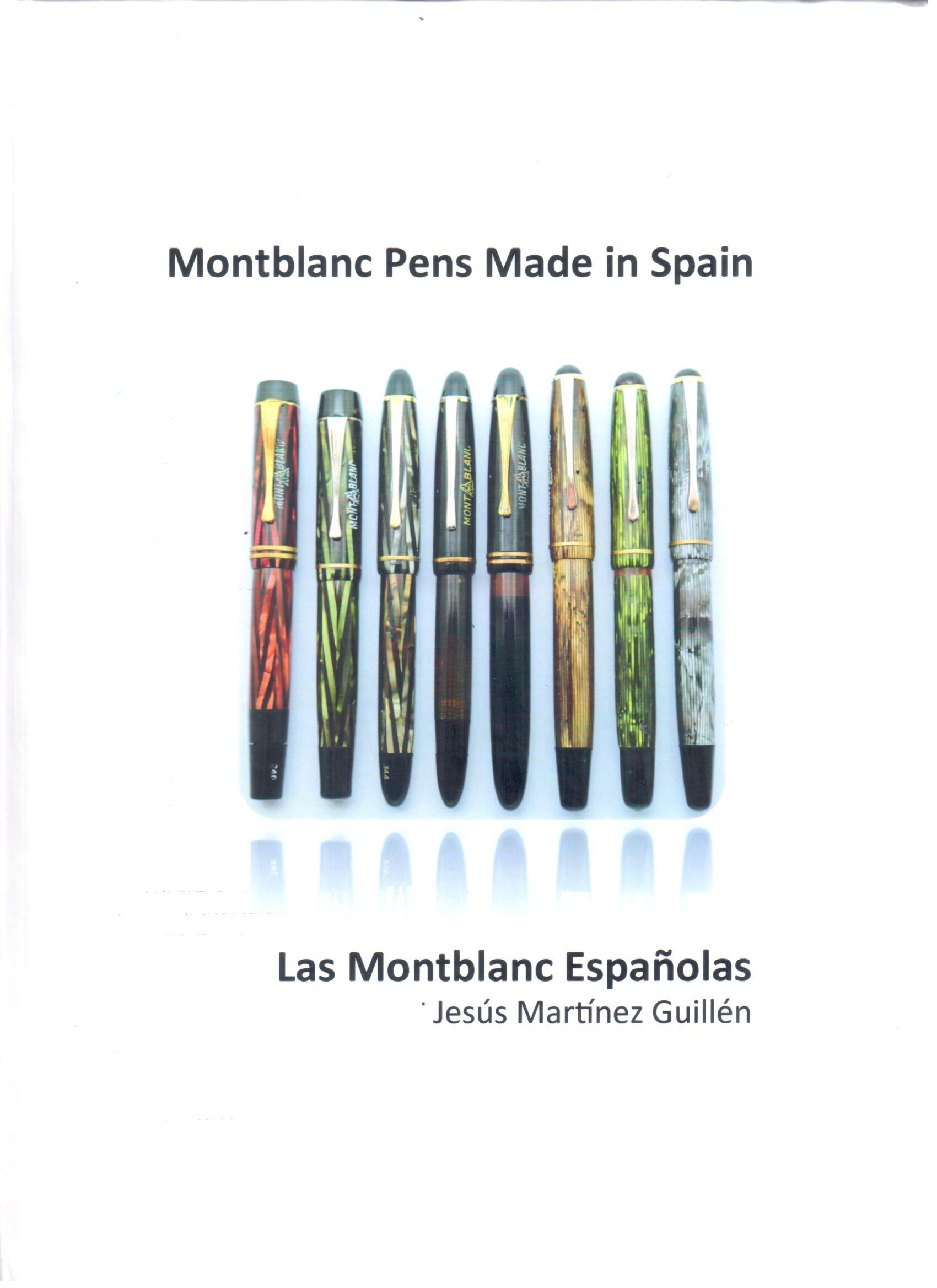 Montblanc Pens Made in Spain